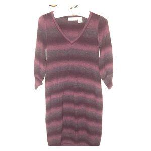 DKNY fall sweater dress